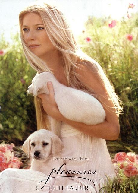 Gwyneth Paltrow - Estee Lauder pleasures ad