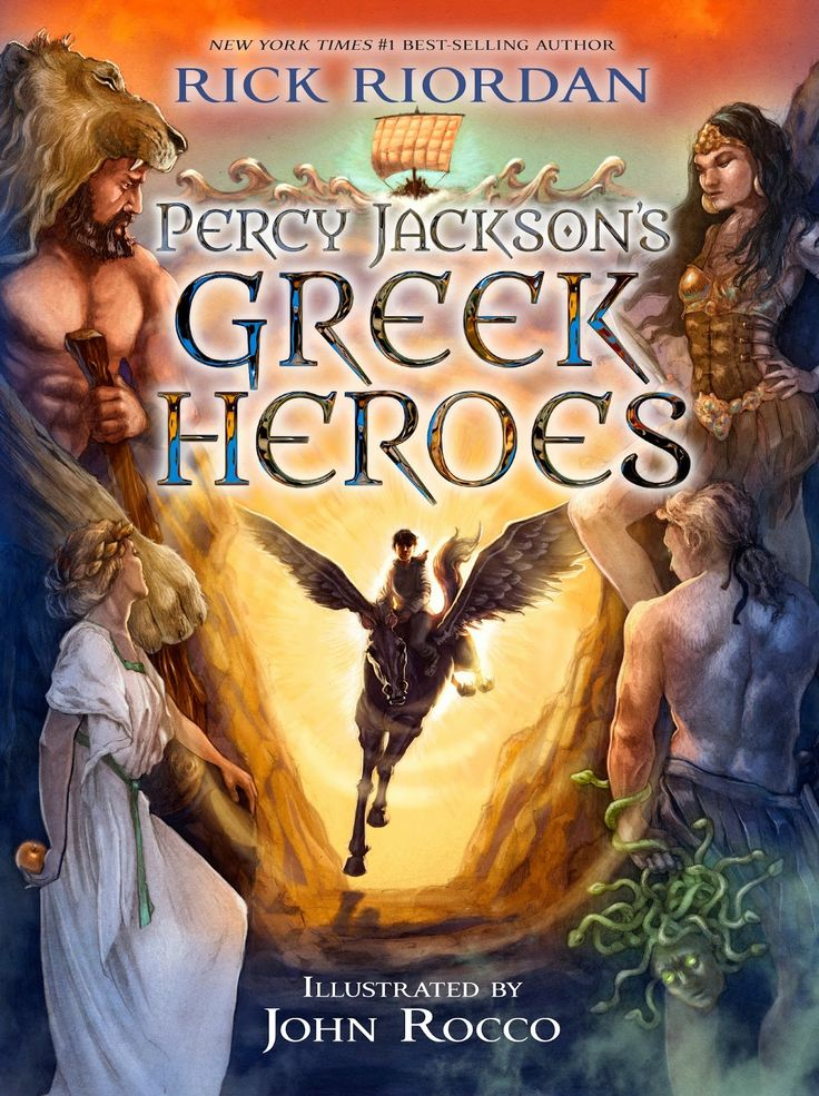 Check out the master of the Greek Mythology Remix at work and read Rick Riordan's new book, Greek Heroes - a must for every Percy Jackson fan! #ad #ReadRiordan