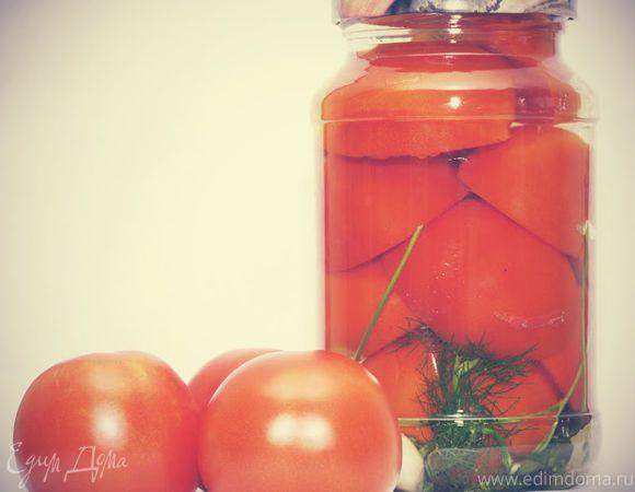 помидоры в желатине