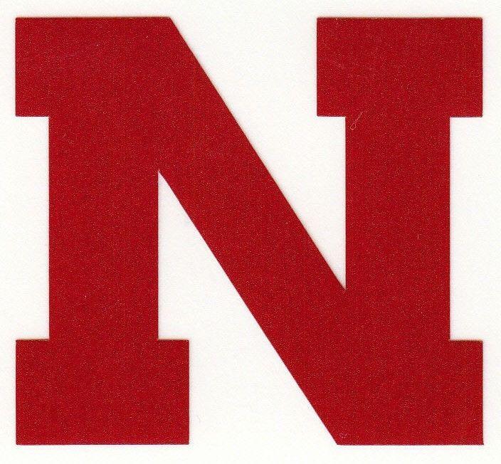 Nebraska Cornhuskers 2 inch Red Reflective fire helmet decal sticker yeti   | eBay