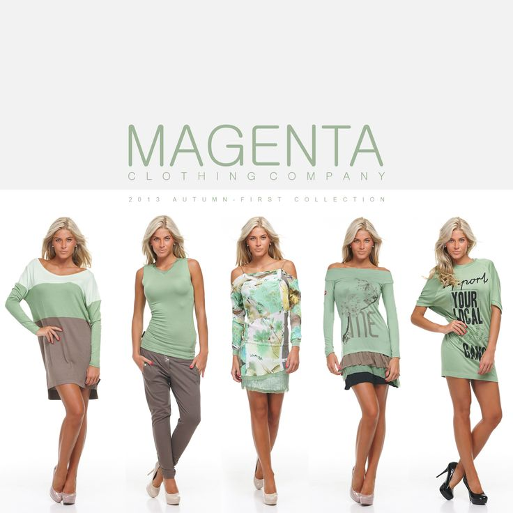 MAGENTA 2013 AUTUMN FIRST COLLECTION  #fashion #magenta #magentafashion #autumn #prefall