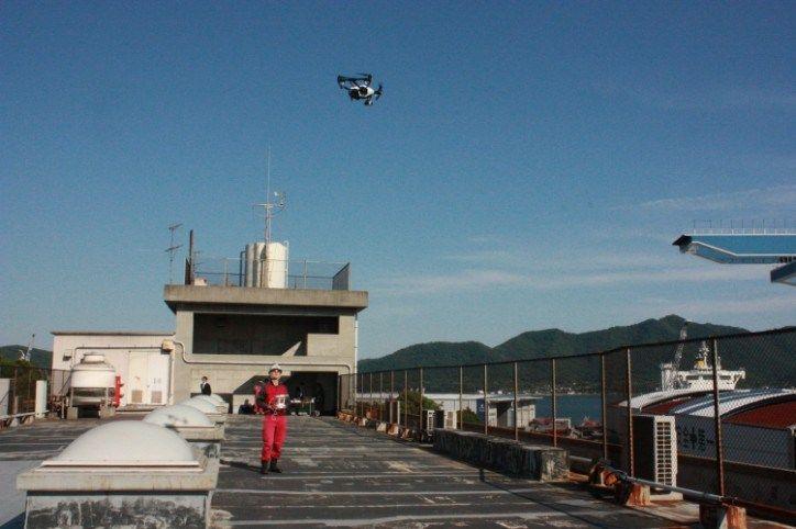 Tsuneishi prueba drones en las tareas de construcción de buques :http://www.xdrones.es/2015/06/tsuneishi-prueba-drones-en-las-tareas-de-construccion-de-buques/