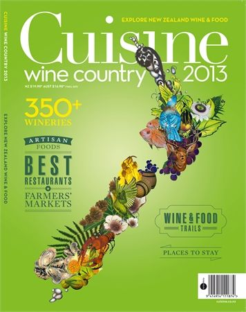 Cuisine Wine Country Cover Page. Artwork from Flox. See more at http://watermarkltd.com/
