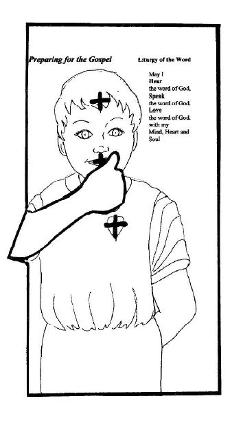 catholic religious education coloring pages - photo#18