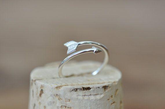 Arrow Ring in Sterling Silver 925 / Sterling por JamberJewels