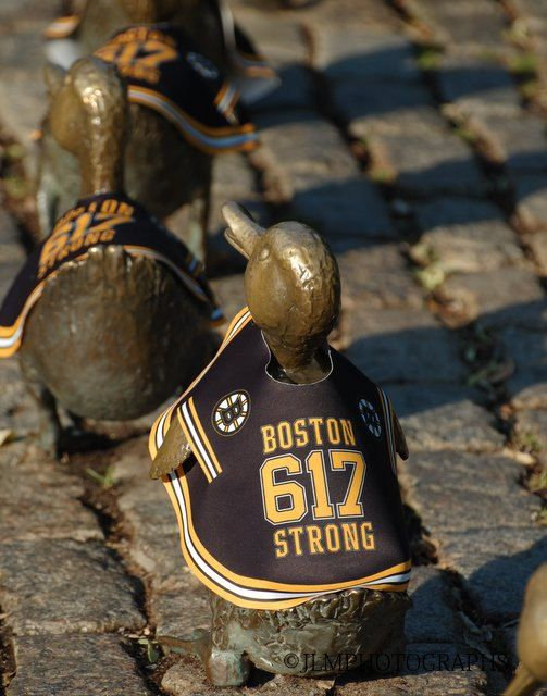 Boston Bruins Ducklings - Boston Strong - Boston Bruins -  Boston 617 Strong - Vertical Photograph - Make Way for Ducklings - Sports by JLMPHOTOGRAPHS on Etsy https://www.etsy.com/listing/171596306/boston-bruins-ducklings-boston-strong