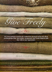 Featured in Romantic Homes  How to wash burlap for homemade gifts, cherries in red wine, lots of Christmas ideas!
