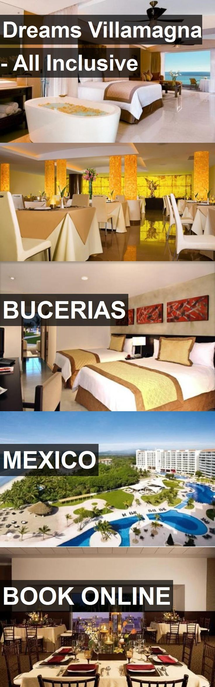 Hotel Dreams Villamagna - All Inclusive in Bucerias, Mexico. For more information, photos, reviews and best prices please follow the link. #Mexico #Bucerias #travel #vacation #hotel