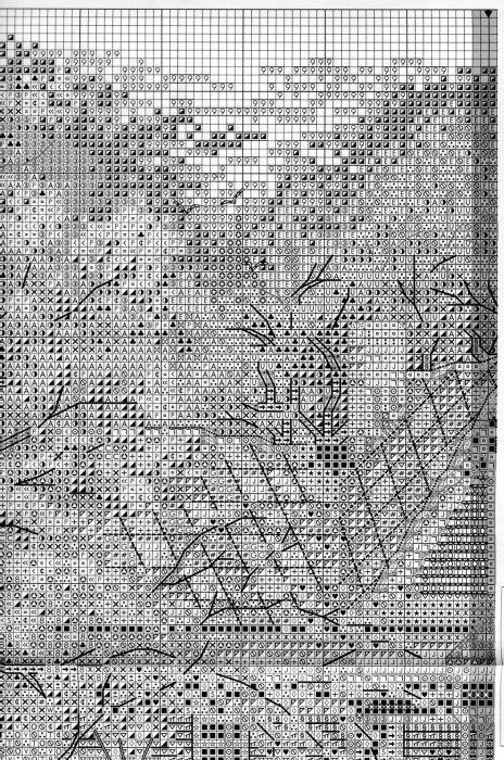 Схема вышивки Викторианский коттедж (Bucilla) 2 из 6
