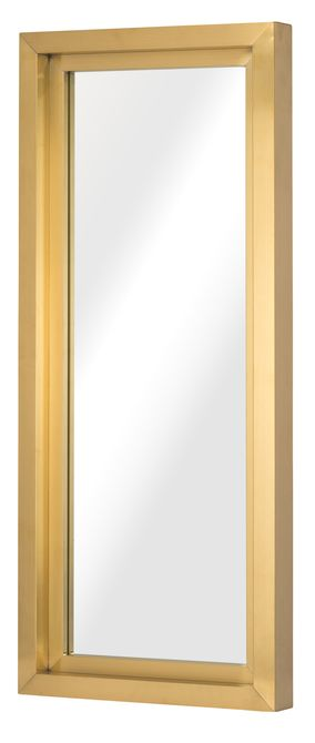 Nuevo Glam Metal Wall Mirror in Gold