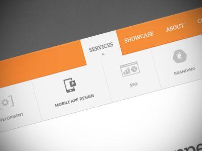 Services Drop-Down Menu by Sean Furr