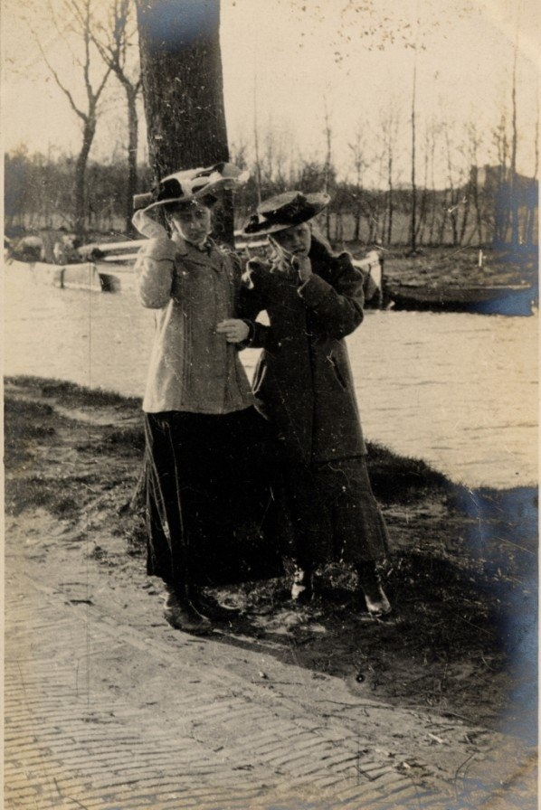 Muiden, The Netherlands,  22nd April 1906 by Edward Linley Sambourne
