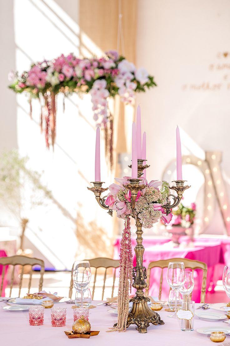 Centerpieces   #wedding #weddingdecoration #weddingideas #weddinginspiration #pinkandwhite