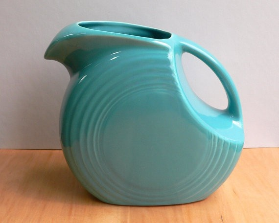 Turquoise Fiesta Ware - I'd like this for my birthday!