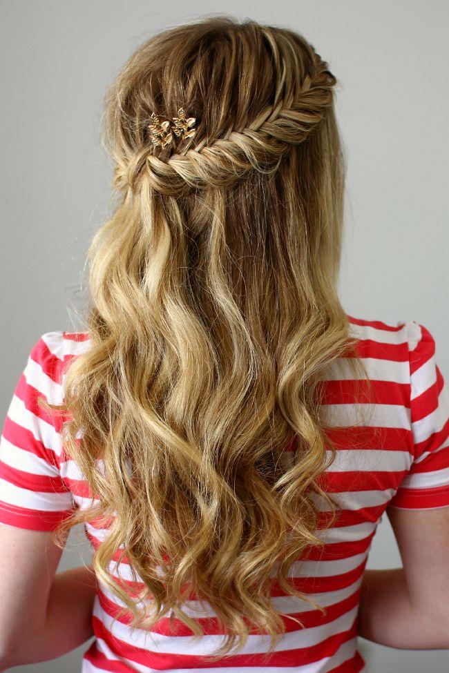 25 best ideas about half french braids on pinterest
