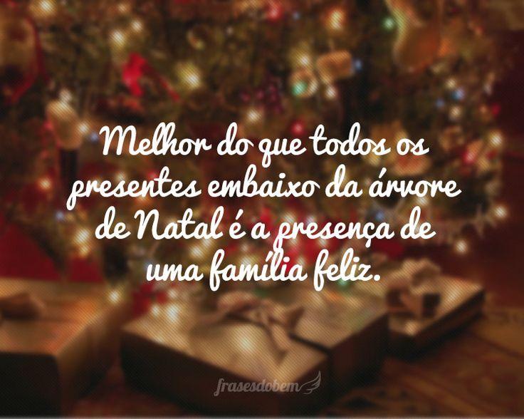 Frases de Natal no Frases do Bem. Encontre dezenas de Frases de Natal com imagens para copiar e compartilhar.