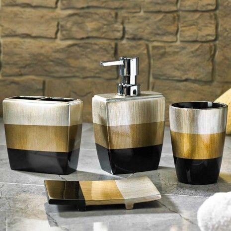 Trio Bath Collection - Patterns - Bath Accessories - Bath