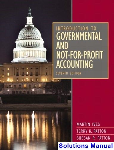 governmental accounting test bank chapter 1 Free sample 1 test bank for essentials of accounting for governmental and not for profit organizations 10th edition by copley multiple choice questions are the biggest motivation for you to sit down and study.