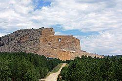 Crazy Horse Memorial - Wikipedia, the free encyclopedia
