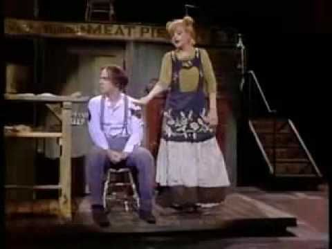 Sweeney Todd: A Little Priest, Steven Sondheim - Angela Lansbury and George Hearn as Sweeney Todd and Mrs. Lovett.