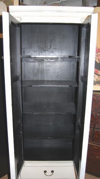 Högt/smalt skåp - Asia Furniture