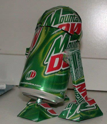 @Tina Doshi Doshi Thomas Star Wars and Mt. Dew, I figure this is your version of heaven.... lol