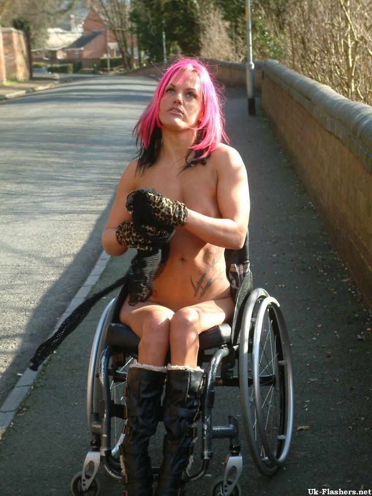 Nude Wheelchair Women