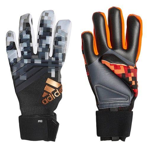 competitive price f1f71 fc11b adidas Men s Predator Pro Telstar Goalkeeper Gloves Red Black