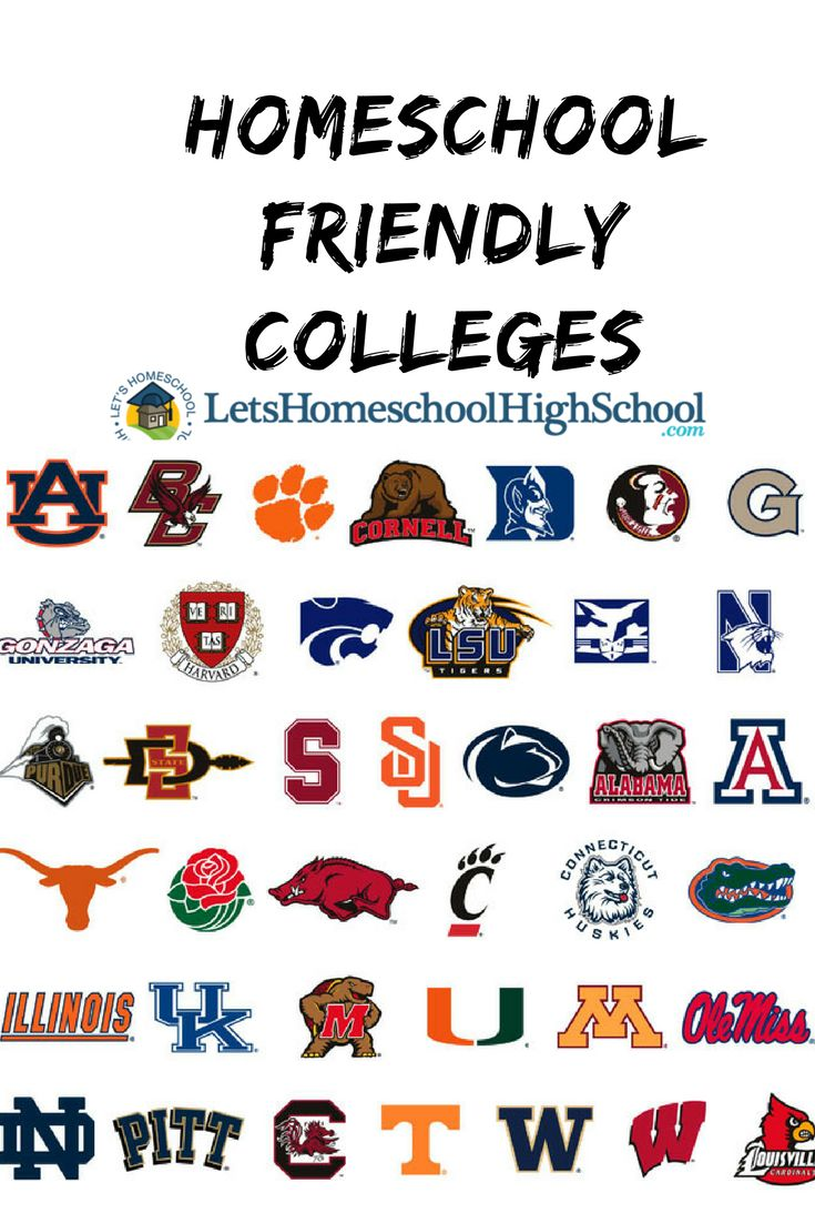 39 best Colleges - Homeschool Friendly images on Pinterest ...