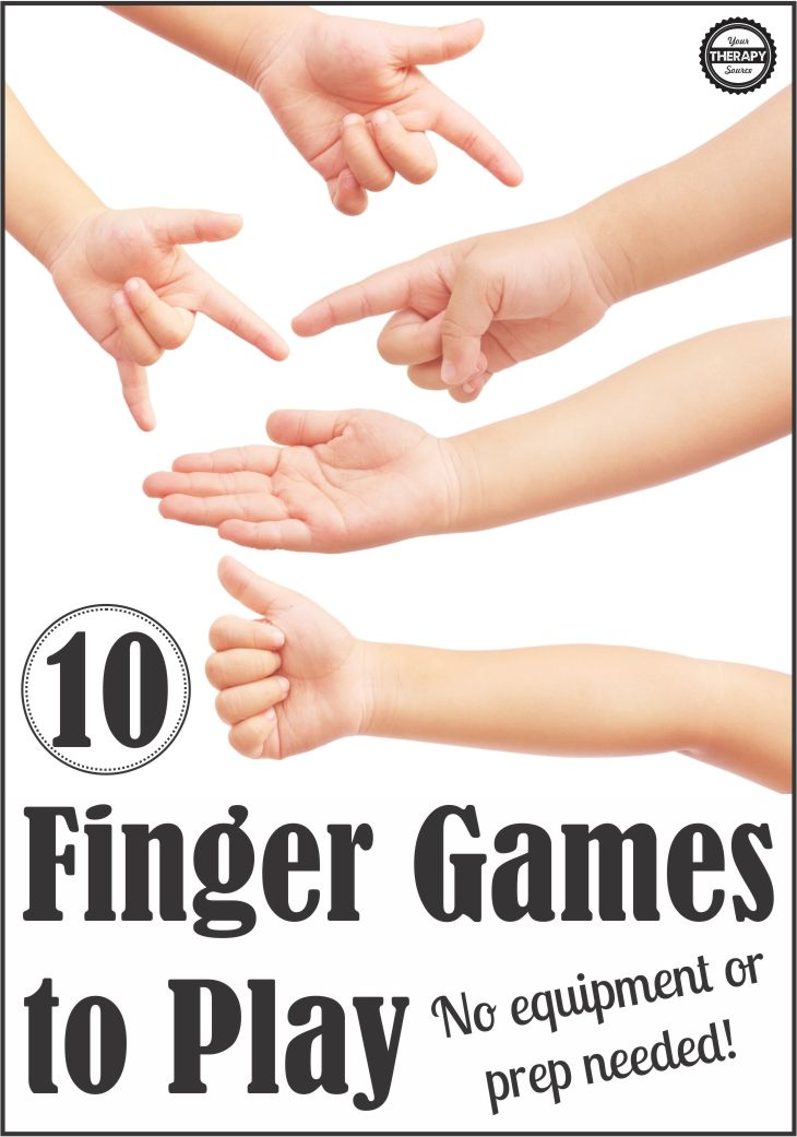 Finger Games to Play for Children