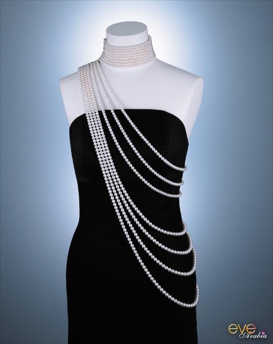 مجوهرات اللؤلؤ .. من Mikimoto