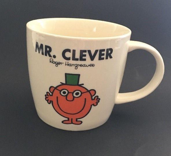 Mr Clever Mug Chorian Roger Hargreaves Mr Men Little Miss Wild Wolf 2010 #Chorian