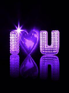 I Love You love friendship animated romantic purple love quote friend romance gif i love you
