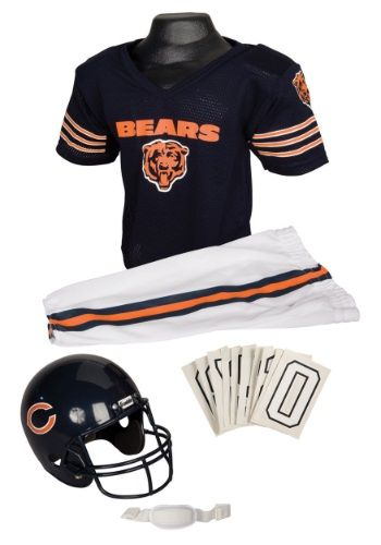 Chicago Bears Halloween Costumes. Featured below are Chicago Bears uniforms that make great Halloween costumes. Plus there are Chicago Bears Cheerleaders...