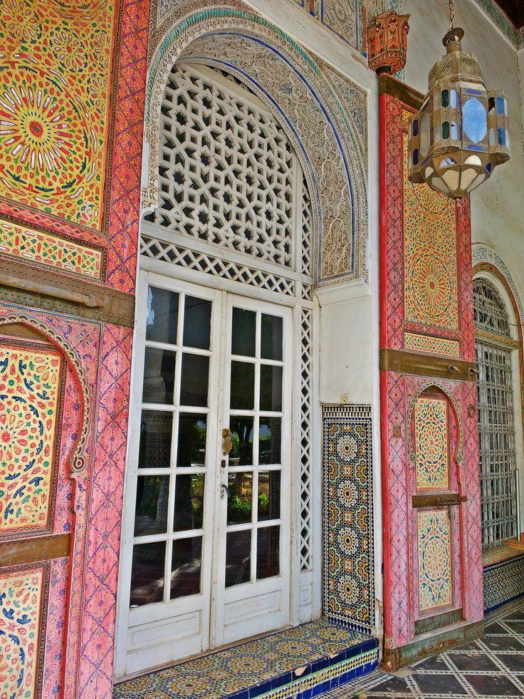 Beautiful Gateway, Fez, Morocco