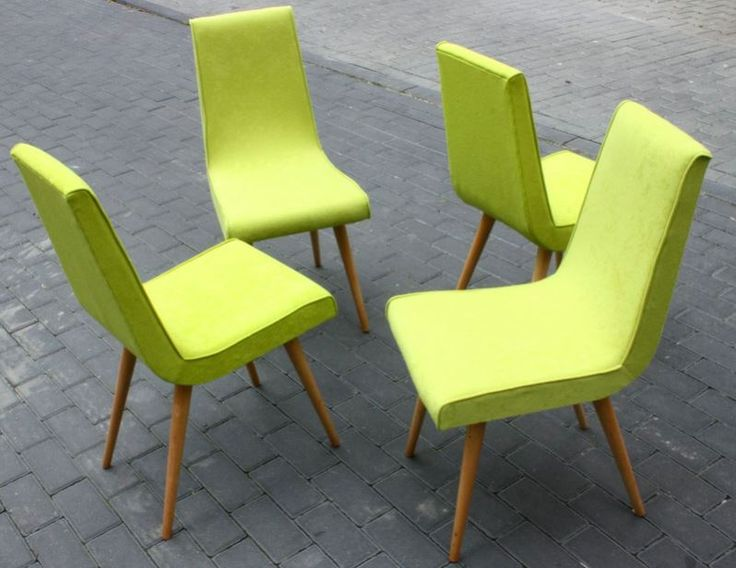 Krzesła gięte, Polska, lata 60.