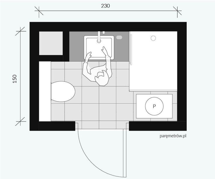 mieszkanie rodzinne / Łazienka  Bathroom / Basic