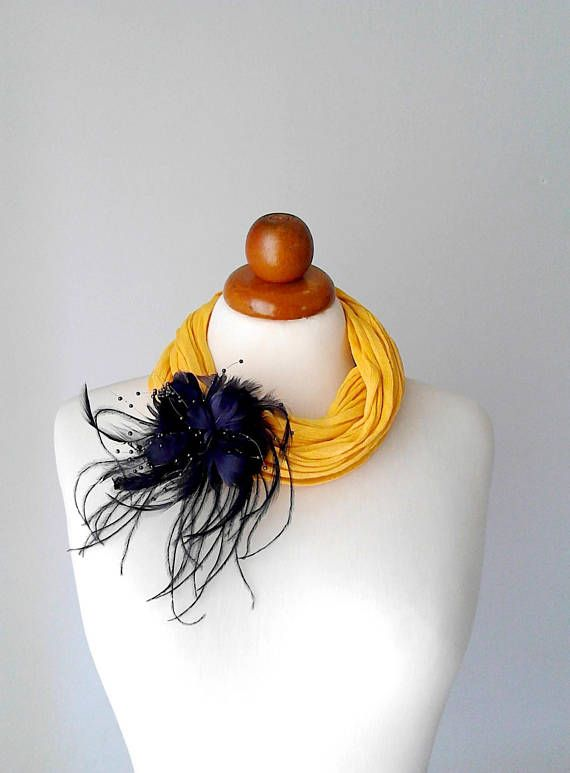 Yellow necklace yellow statement necklace yellow bib necklace
