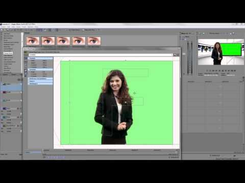 ▶ Sony Vegas Movie Studio HD 11 Green Screen Chroma Key Tutorial - YouTube