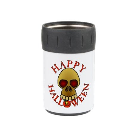 Scary #Halloween Skull Can Insulator