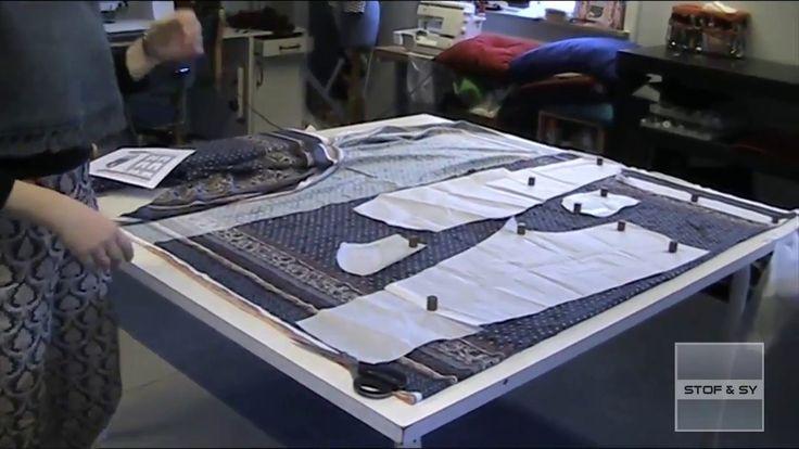 Sy et par bukser med skrålommer og elastik i linning Del 1