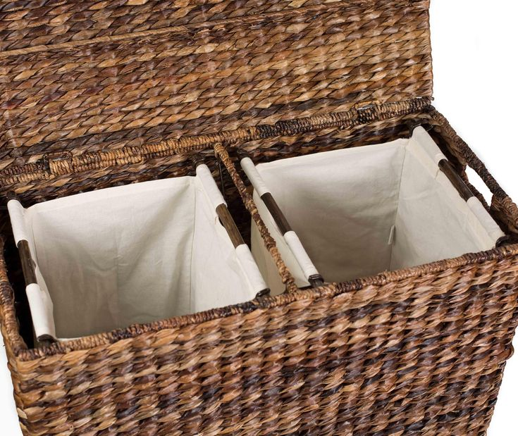 17 best ideas about laundry hamper with lid on pinterest white wicker laundry basket laundry - Wicker laundry basket with liner and lid ...