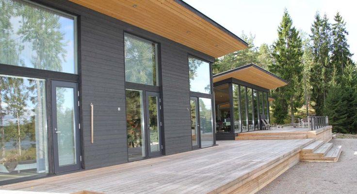 Finnhouse post beam in finland schuurwoning en post for Bouwen en interieur