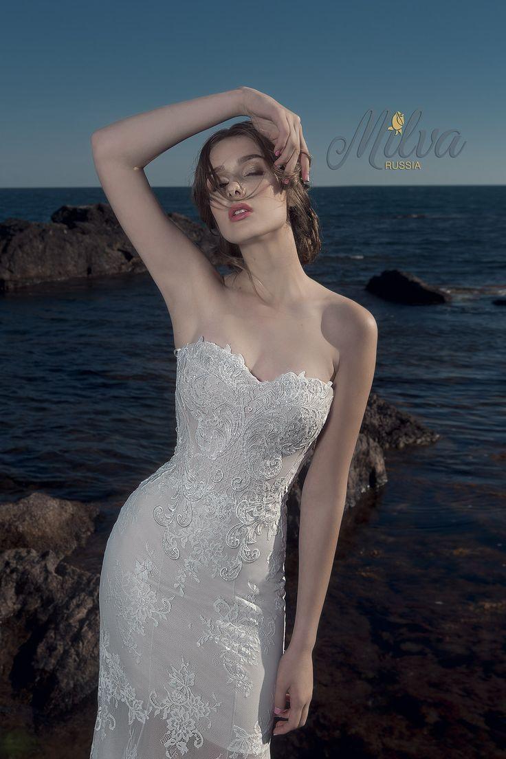 Свадебная мода MILVA,Свадебная мода MILVA. Свадебное платье, Wedding dress 2017, wedding on the sea