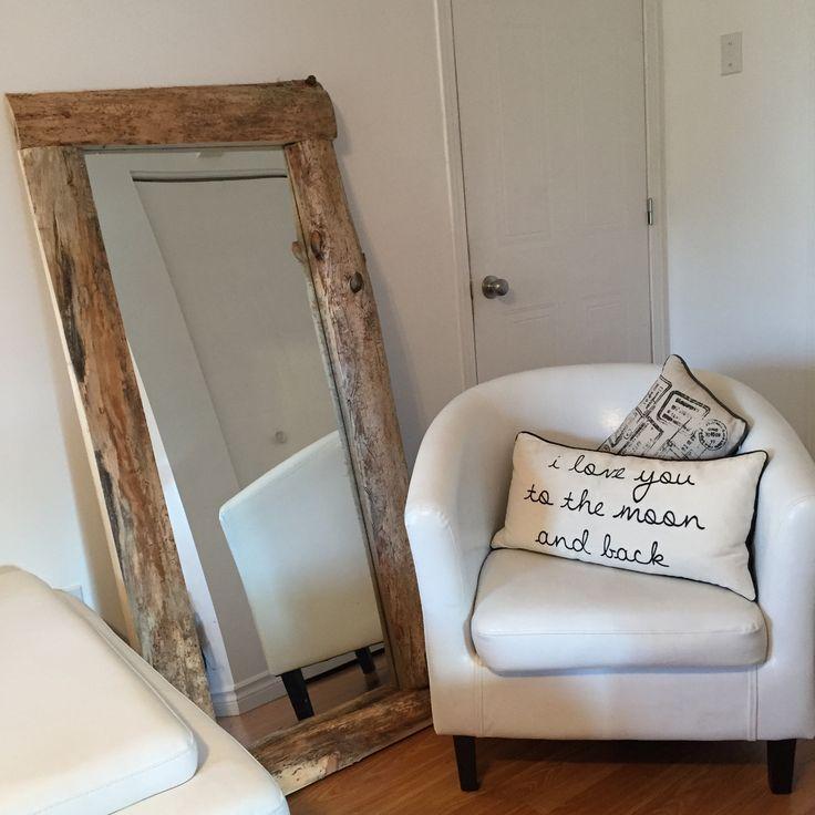 Wood mirror LOVE IT !