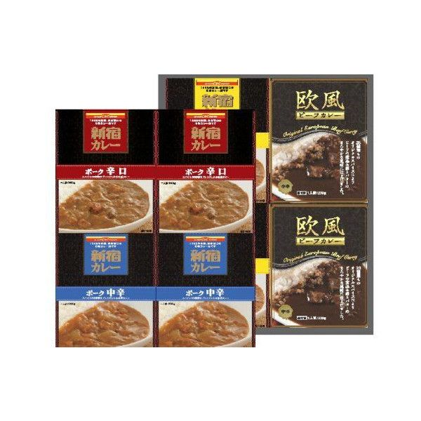 東京・京王新宿駅で40年以上売れ続けてきた、「カレーショップC&C」の本格派カレー! マイルド・中辛・辛口のポークカレー3種と欧風ビーフカレーをそろえました。保存方法:室温で長期間保存できます。 内容量:1箱200g×4箱 殺菌方法:気密性容器に密封し、加圧加熱殺菌 賞味期限:外箱に記載いたします。商品重量:2.2 Kg商品の寸法:33.8 x 27.4 x 6 cm外箱のパッケージが一部変更になることがございます、ご了承ください。