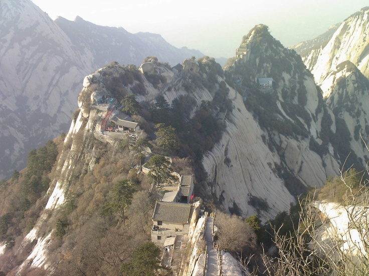 Love this mountain! Go if you get a Chance.  Mt. Huashan is one of five sacred mountains of China
