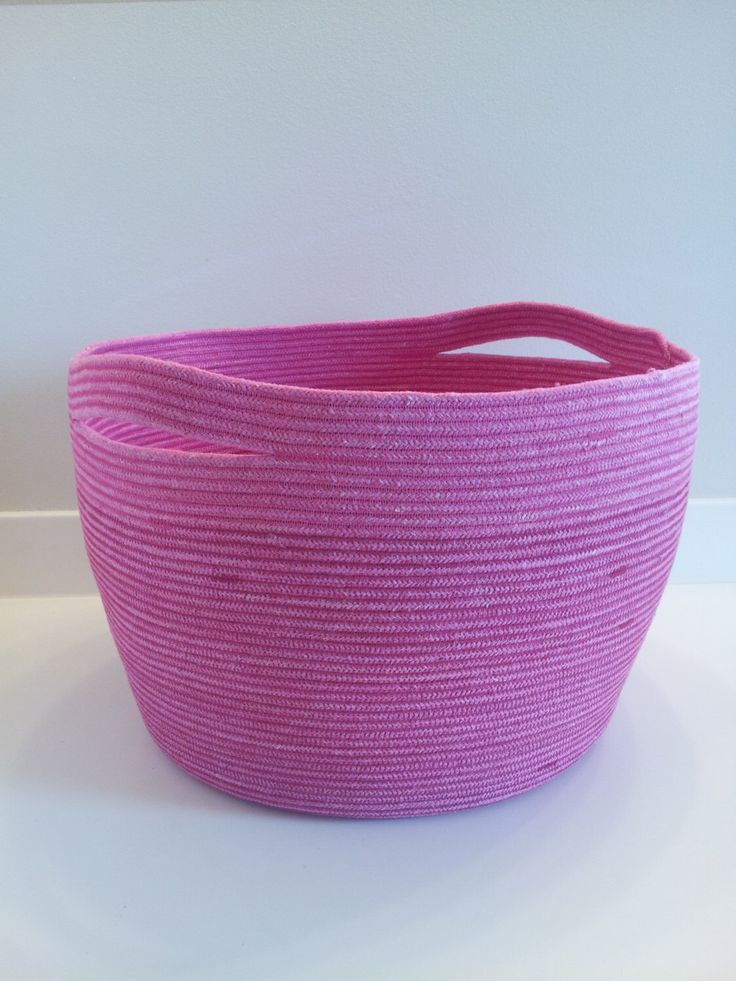 Extra Large Fuscia Basket with Handles by PrairieStMercantile on Etsy https://www.etsy.com/listing/210542659/extra-large-fuscia-basket-with-handles