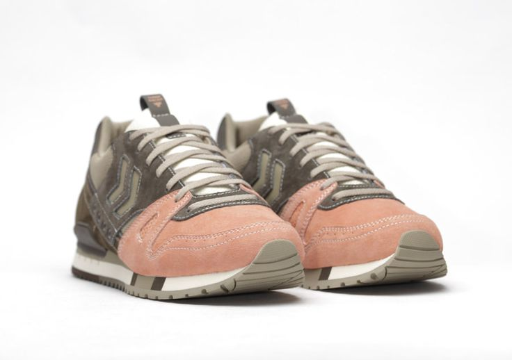 Sneakers women - Hummel x Mita sneakers Marathona OG salmon
