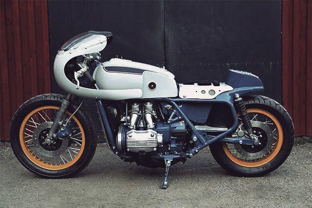 '76 Honda Goldwing - Adam's Custom Shop